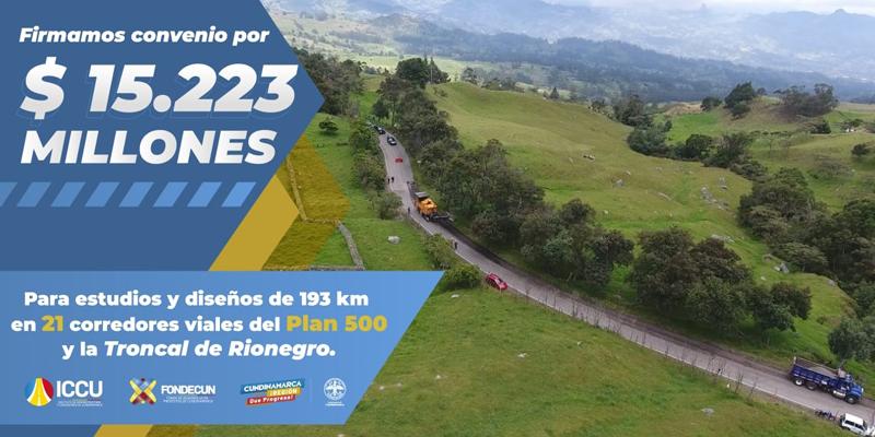 Seguimos trabajando por la reactivación económica de Cundinamarca